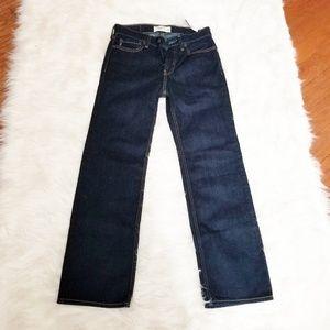 NWT Abercrombie kids classic dark was jeans 11/12